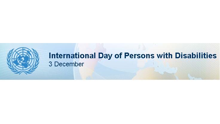 3 Dicembre – Giornata Mondiale Dei Diritti Delle Persone Con Disabilità