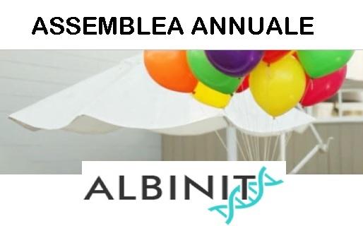 12 Giugno 2016 – Assemblea Annuale ALBINIT