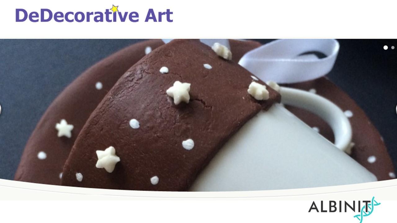 Decorative Art Bomboniere V04