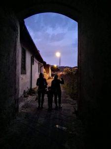 vicoli sicuri anche di notte
