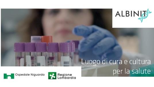 Logo Albinit+Niguarda X News V02