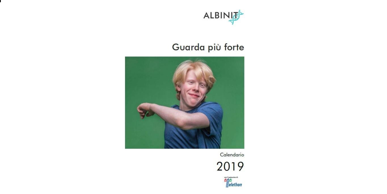 """CALENDARIO 2019 – """"Guarda Più Forte"""""""