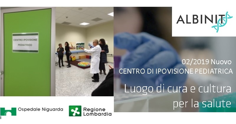 Niguarda (MI) – Nuovo CENTRO DI IPOVISIONE PEDIATRICA