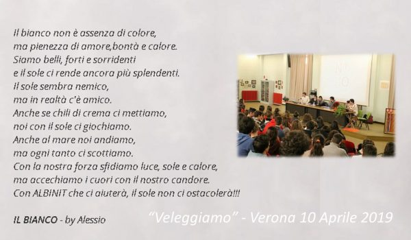 """""""Veleggiamo"""" – Verona 10 Aprile 2019"""