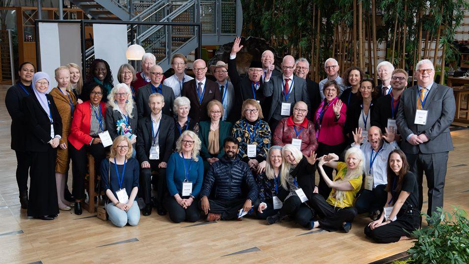 2020 – World Albinsm Alleance  (Alleanza Globale Per L'Albinismo)